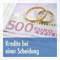 Kredite bei einer Scheidung